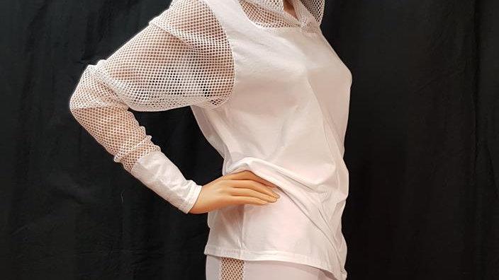 T-shirt Net Hood & Sleeves
