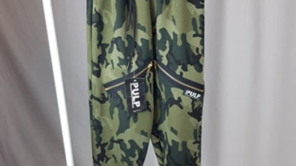 Joggers - Olive Camo Street Dance Style Age 10-12