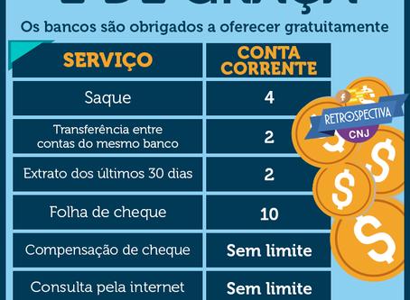 Serviços bancários gratuitos!