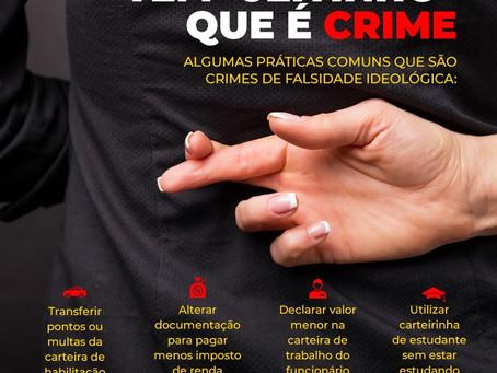 Jeitinho Brasileiro que é CRIME!
