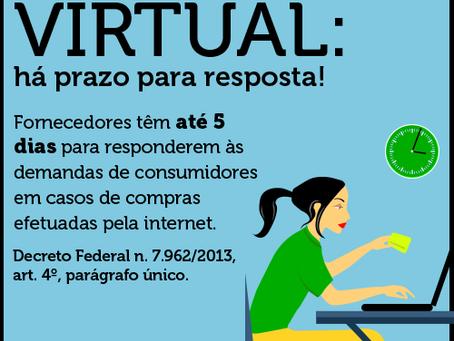 Consumidor, internet e seus direitos.
