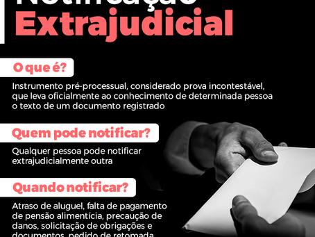 O que é notificação extrajudicial?