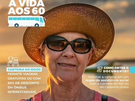 É direito do idoso CURTIR A VIDA!