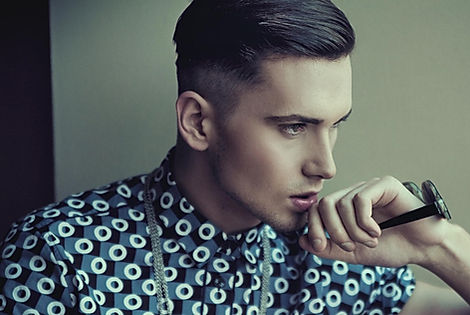 Mens hair cut, skin fade