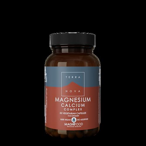 Magnesium Calcium 2:1 Complex 50mg 50 kapslar
