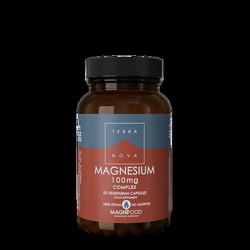 Magnesium 100mg 50 kapslar
