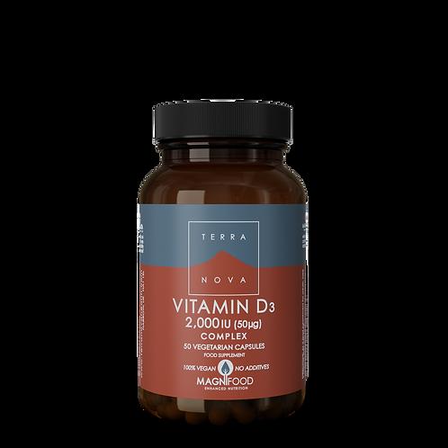 Vitamin D3 2,000iu Complex 50k