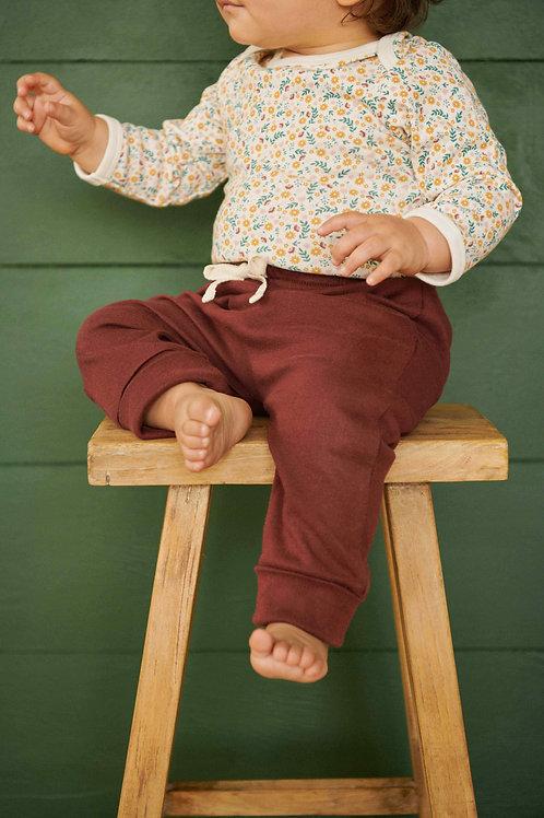 Drawstring Pants - Elderberry