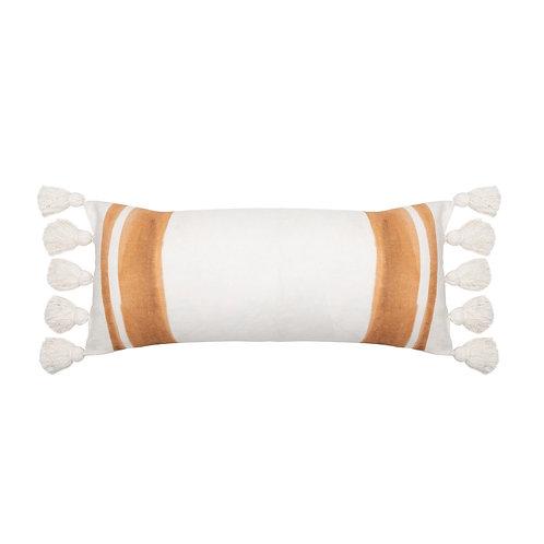 The Sophie Linen Cushion - Tan