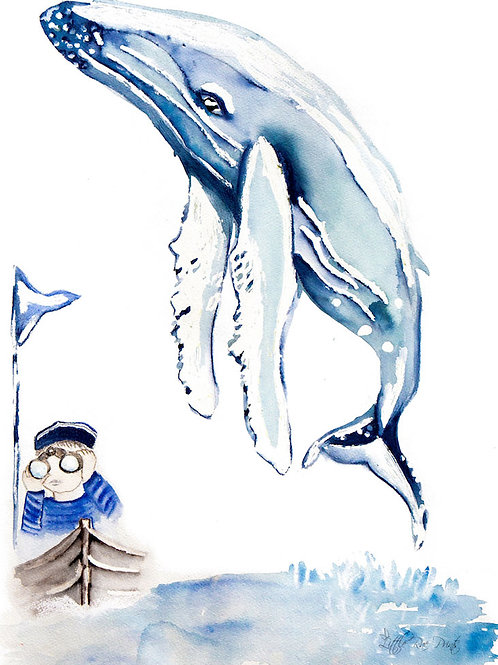 Boy and Whale