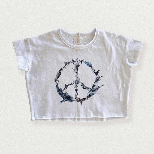 Slouchy Tee - Ocean Peace