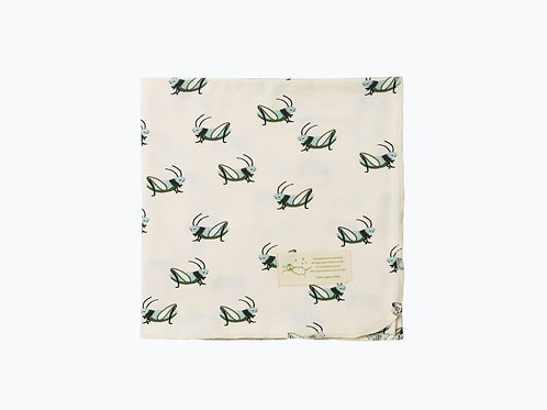 Organic Cotton Wrap - Grasshopper