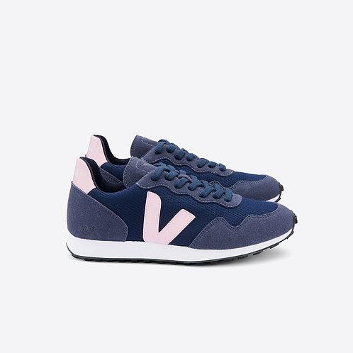 Veja - Vegan B-Mesh Sneaker - Navy/Blush
