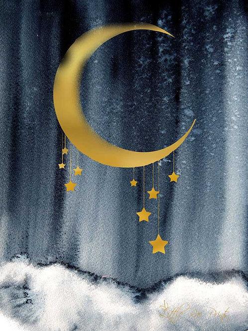 Midnight Moon - Navy