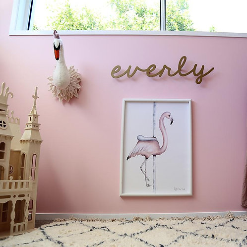 Carousel Flamingo