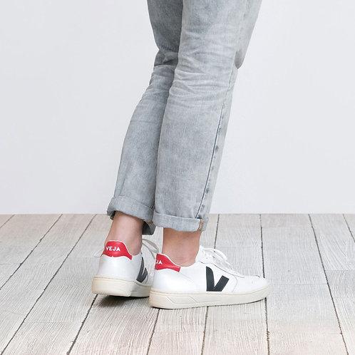 Veja - V-10 Sneaker - White Nautico/Pekin
