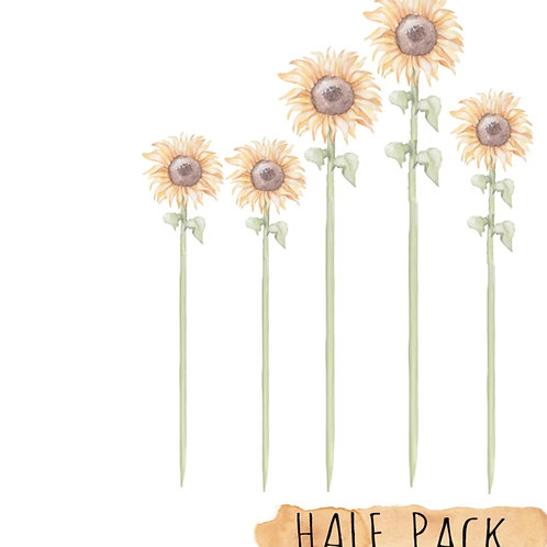 Sunflower Wall Decals