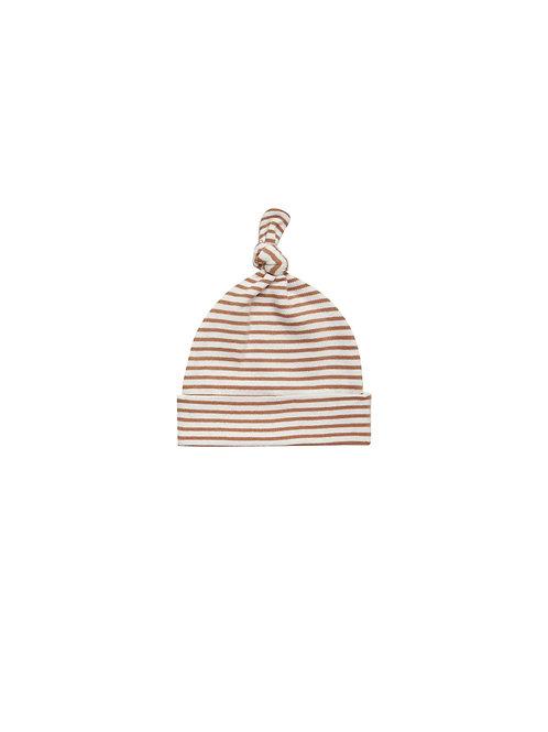 Beanie - Rust Stripe
