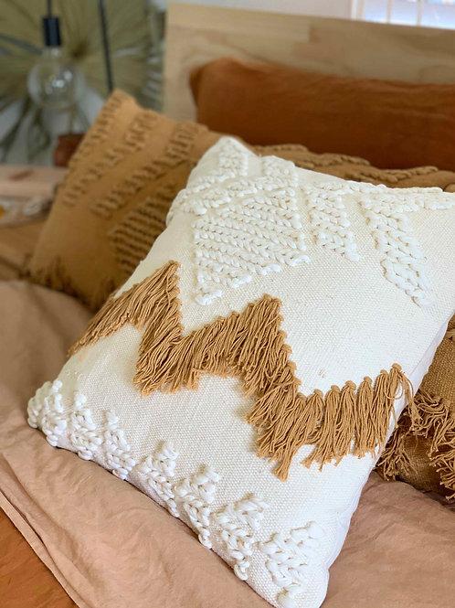 Fringe Square Cushions