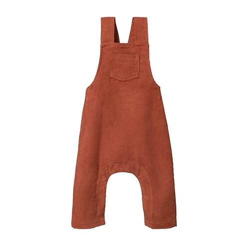 Overalls - Clay Organic Cordaroy