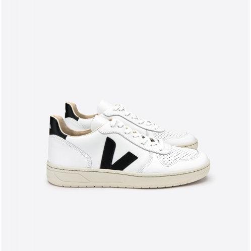 Veja - V-10 Sneaker - White/Black