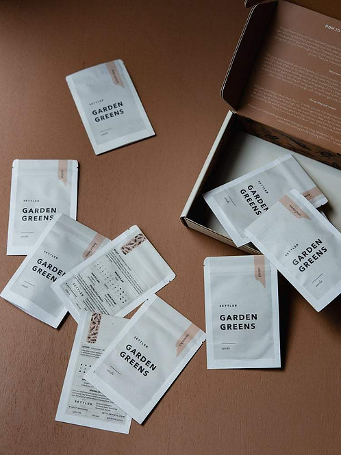 Settler Hives' Seed Sets - Garden Greens Collection