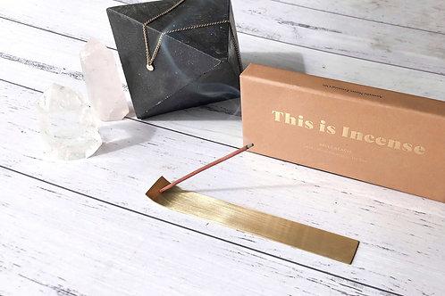 Gold Incense Holder
