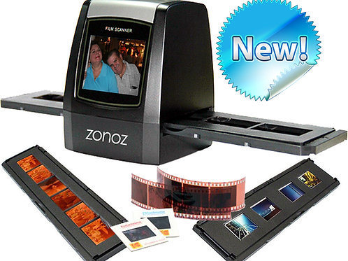 FS-ONE  22MP High-Resolution 35mm Negative Film & Slide Scanner