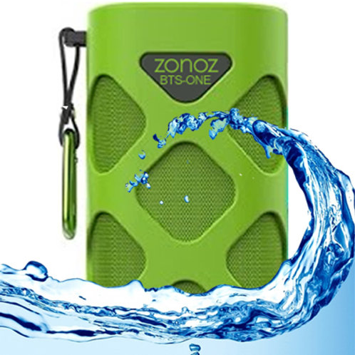 BTS-ONE Rugged Waterproof Outdoor Portable Wireless Bluetooth Speaker (Green)