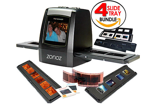 FS-ONE  22MP High-Resolution 35mm Negative Film & Slide Scanner (Bundle)