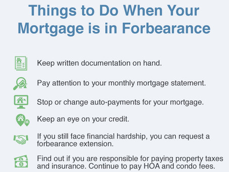 What to Do After You Receive Forbearance