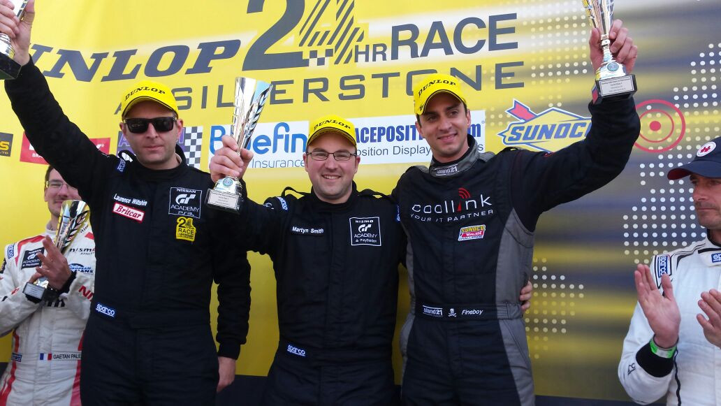 Victory at the Silverstone 24hr