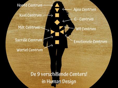 9 centers Human design