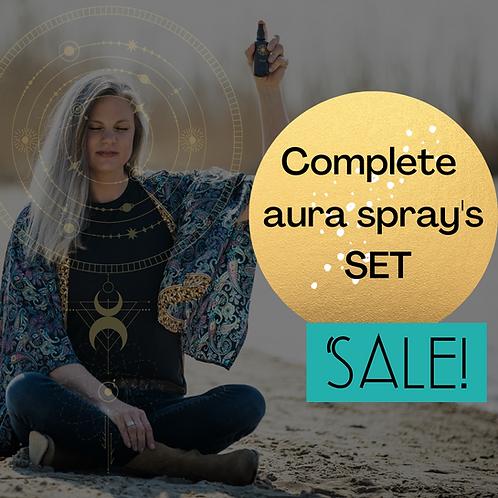 """""""I Empower You"""" Complete 9 Aura spray set"""