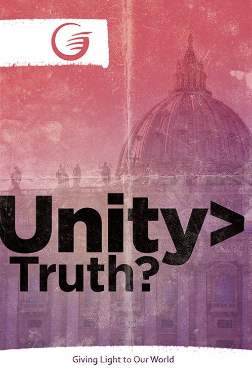 Unity>Truth?