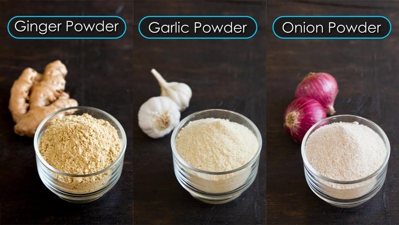 Ginger, Garlic & Onion Powder