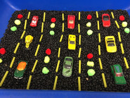 Cars: Rushing, Honking, Zooming