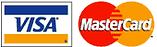 Mastercard & Visa Accepted