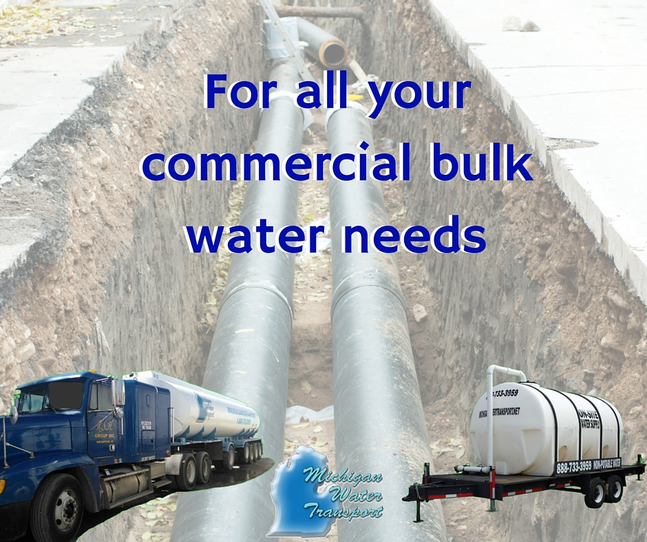 For all your commercial bulk water needs