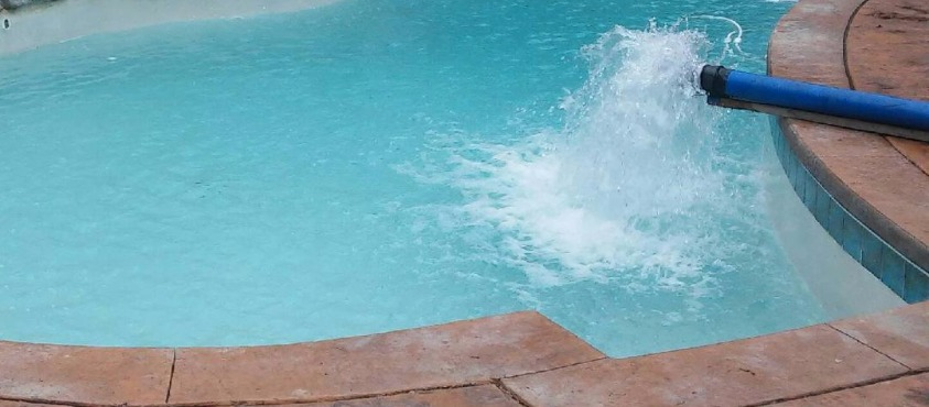 Perfect swimming water!