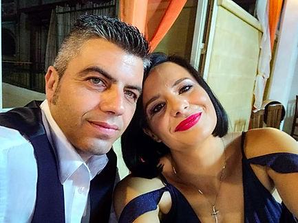 Caterina Vitiello e Maurizio Pepe