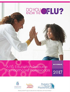 Do You Know the Flu educational resource for healthcare professionals