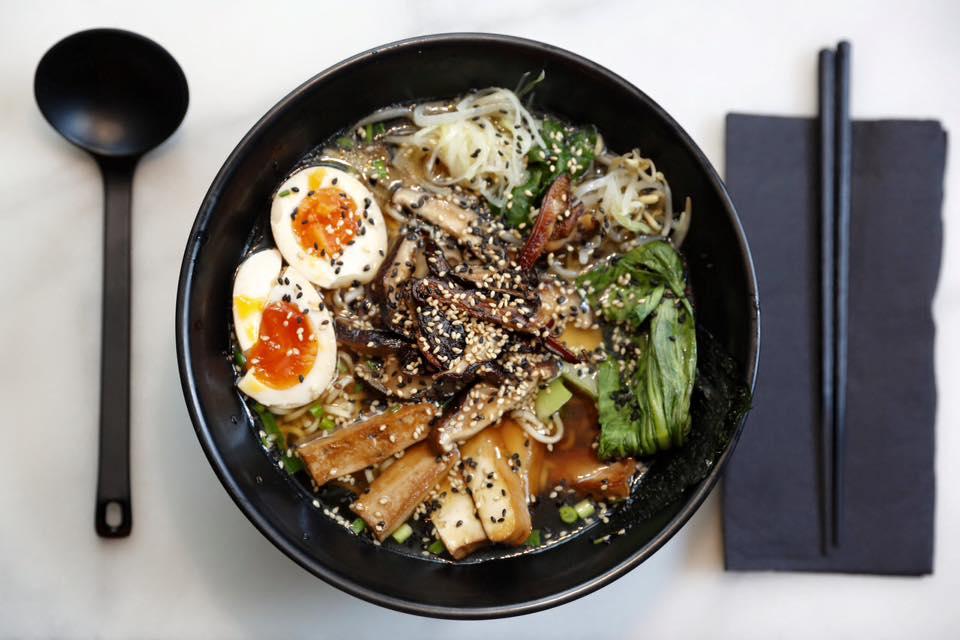 Shoyo Ramen vegetariano