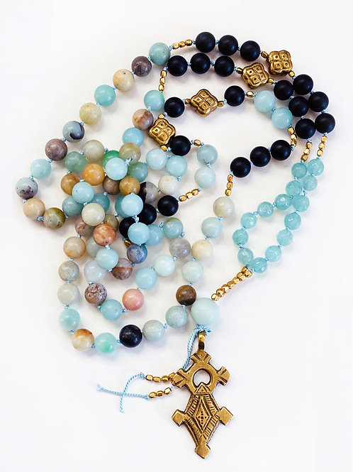 Inner Strength Mala Necklace