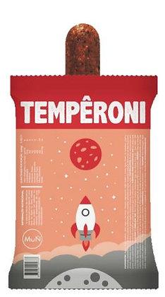 Temperoni - Peperoni Vegano sem soja