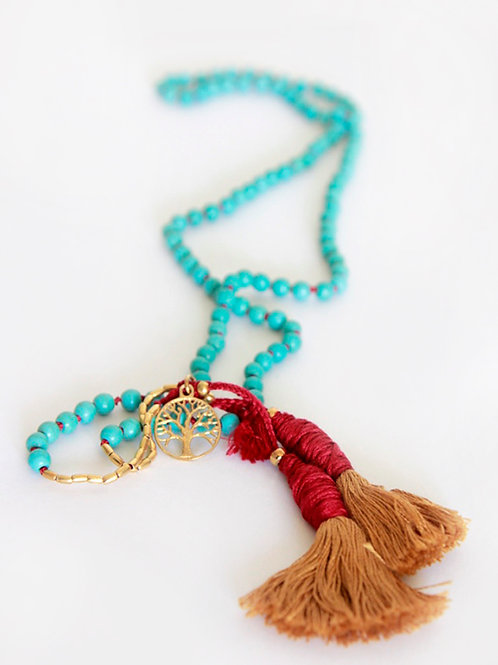 Sacred Protection Mala Necklace
