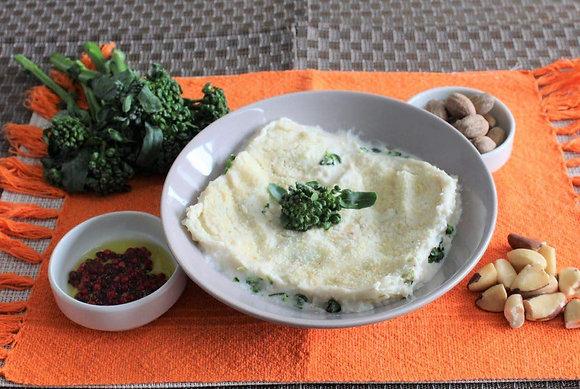 Lasanha de Brócolis & Tofu ao molho Bechamel