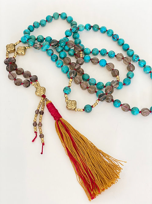 Sacred Protection Mala Necklace - No. 3