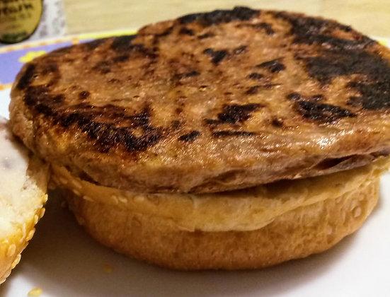 Hambúrguer de Jaca defumado c/ Berinjela