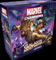 Marvel Champions Galaxy most wanted box.